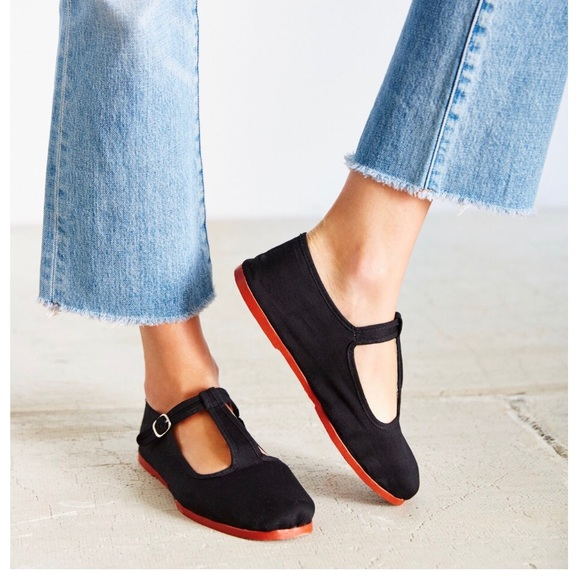 Urban Outfitters Shoes Urban Outfitters T Strap Mary Jane Flats Poshmark